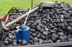 IMGP0550 (Steve Guess) Tags: dalegarth re steam railway narrow gauge 15inch train cumbria england gb uk ravenglass eskdale riverirt engine loco locomotive coal shuvel oilcan shovel laal ratty