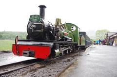 IMGP0546 (Steve Guess) Tags: dalegarth re steam railway narrow gauge 15inch train cumbria england gb uk ravenglass eskdale riverirt engine loco locomotive laal ratty