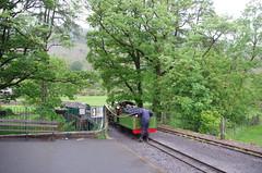 IMGP0541 (Steve Guess) Tags: uk england train engine railway loco steam cumbria gb locomotive re gauge narrow eskdale ravenglass 15inch dalegarth riverirt laal ratty