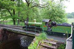 IMGP0542 (Steve Guess) Tags: dalegarth re steam railway narrow gauge 15inch train cumbria england gb uk ravenglass eskdale riverirt engine loco locomotive bridge river esk laal ratty
