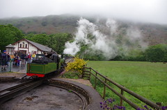 IMGP0540 (Steve Guess) Tags: dalegarth re steam railway narrow gauge 15inch train cumbria england gb uk ravenglass eskdale turntable riverirt engine loco locomotive laal ratty