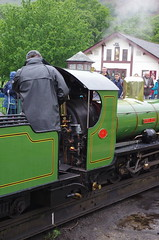 IMGP0538 (Steve Guess) Tags: dalegarth re steam railway narrow gauge 15inch train cumbria england gb uk ravenglass eskdale turntable riverirt engine loco locomotive laal ratty