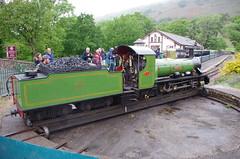 IMGP0537 (Steve Guess) Tags: dalegarth re steam railway narrow gauge 15inch train cumbria england gb uk ravenglass eskdale turntable riverirt engine loco locomotive laal ratty