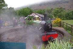 IMGP0535 (Steve Guess) Tags: dalegarth re steam railway narrow gauge 15inch train cumbria england gb uk ravenglass eskdale turntable riverirt engine loco locomotive laal ratty