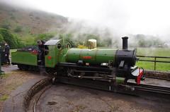 IMGP0533 (Steve Guess) Tags: dalegarth re steam railway narrow gauge 15inch train cumbria england gb uk ravenglass eskdale turntable riverirt engine loco locomotive laal ratty