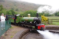 IMGP0531 (Steve Guess) Tags: uk england train engine railway loco turntable steam cumbria gb locomotive re gauge narrow eskdale ravenglass 15inch dalegarth riverirt laal ratty