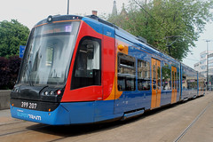 Stagecoach Supertram: 207 Class 399: 399207 Cathedral (emdjt42) Tags: stagecoachsupertram class399 399207 sheffield tram train vossloh