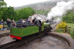 IMGP0539 (Steve Guess) Tags: dalegarth re steam railway narrow gauge 15inch train cumbria england gb uk ravenglass eskdale turntable riverirt engine loco locomotive laal ratty