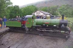 IMGP0536 (Steve Guess) Tags: dalegarth re steam railway narrow gauge 15inch train cumbria england gb uk ravenglass eskdale turntable riverirt engine loco locomotive laal ratty