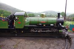 IMGP0534 (Steve Guess) Tags: dalegarth re steam railway narrow gauge 15inch train cumbria england gb uk ravenglass eskdale turntable riverirt engine loco locomotive laal ratty