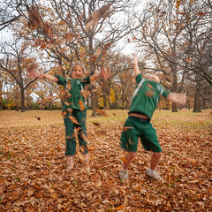 Throwing Leaves #6 (164/365) (johnstewartnz) Tags: 164365 day164 onephotoaday oneaday onephotoaday2019 365project project365 canon canonapsh apsh eos 1dmarkiii 1d3 1dmark3 1d 1dmkiii 1dmk3 1diii canoneos1dmkiii 1740mm 1740 ef1740mmf4lusm tripod squarecrop grandchildren grandchild grandson granddaughter leaves fall autumn winter