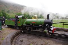 IMGP0532 (Steve Guess) Tags: dalegarth re steam railway narrow gauge 15inch train cumbria england gb uk ravenglass eskdale turntable riverirt engine loco locomotive laal ratty