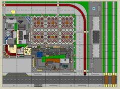 Brickània 2019 (Ostman el Sullusta) Tags: lego brickania montblanc city mils layout vilabrick hispalug