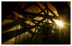 Air Raid Shelter (jmvanelk) Tags: nikond80 nikkor1870mm nikfilters soesterberg airforcebase abandoned naturepark silence bunkers concrete airraidshelter f16 32tfs 32ndsquadron tripthelightfantastic light shadow sun backlight