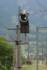 SBB - N Signal (Kecko) Tags: 2019 kecko switzerland swiss schweiz suisse svizzera ostschweiz sg badragaz bahnhof station sbb cff ffs bahn eisenbahn railway railroad technique technik technics technology technisch signal eisenbahnsignal signalling swissphoto geotagged geo:lat=47010360 geo:lon=9506760