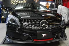 Mercedes-Benz W176 s.d.f Aero kit (s.d.f-Japan) Tags: vehiclemercedesbenz aclass w176 2016 aero sdf front lip spoiler side rear diffuser muffler bumper duct fin
