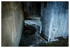 Air Raid Shelter (jmvanelk) Tags: nikond80 nikkor1870mm nikfilters soesterberg airforcebase abandoned naturepark silence bunkers concrete airraidshelter f16 32tfs 32ndsquadron