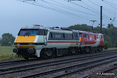 91119 20190611 Biggleswade (steam60163) Tags: lner intercity class91 biggleswade 91115 91119 double91 light91