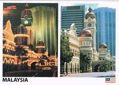 Sultan Abdul Samad Building, Kuala Lumpur, Malaysia (chrisstonycreek) Tags: postcard sultan abdul samad building kuala lumpur malaysia