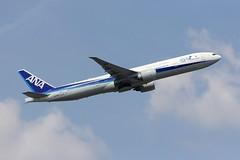 B777 JA784A Frankfurt 18.05.19-2 (jonf45 - 5 million views -Thank you) Tags: airliner civil aircraft jet plane flight aviation frankfurt am main international airport eddf germany all nippon airways boeing 777 ja784a b777