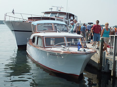 2014-08-09 36 (clarinetgirl) Tags: 2014 august 20140809 lescheneauxislands antiqueboatshow hessel michigan uppermichigan2014 1970matthews matthews