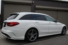 Mercedes-Benz C-Class S205 Aero kit (s.d.f-Japan) Tags: vehiclemercedesbenz cclass s205 aero sdf front lip spoiler rear diffuser lowering kit
