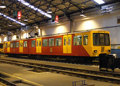 Tyne & Wear Metro: 4014 South Gosforth Depot (emdjt42) Tags: tynewearmetro southgosforth 4014