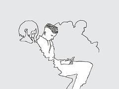 Underground. Tokyo. April 2019 (stevefaradaysketches) Tags: people underground subway train passengers mobiles inkdrawing illustration urbansketch urbansketchers usk fineliner onlocation penandinksketch tokyo japan