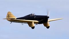 Miles Hawk (Bernie Condon) Tags: mileshawk racing plane vintage presevered 1930s uk british shuttleworth collection oldwarden airfield airshow display aviation aircraft flying festivalofflight june2019