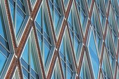 Facade with lines (Jan van der Wolf) Tags: map19219v facade gevel gebouw geometric geometry geometrisch geometrie architecture architectuur lines lijnen lijnenspel interplayoflines playoflines gouda stadskantoor