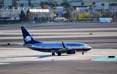 Mexican 737 (Gerry Rudman) Tags: aeromexico boeing 737752wl las vegas nevada