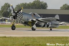 NoGutsNoGlory (Martin Bridges Photography) Tags: riat raffairford fairford aircraft airshow planes riat2004 aviation nikon nikkor p47 p47d nogutsnoglory gthun warbird dday ww2