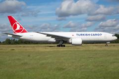 Turkish Airlines B777-FF2 TC-LJM (wapo84) Tags: ehbk mst b777 tcljm thy turkishairlines turkishcargo cargo
