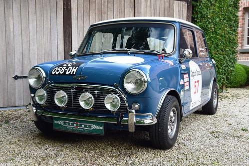 Ready for another Tour Auto : Austin Mini Mk1 Cooper S FIA (1964)