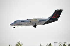 OO-DJV (mduthet) Tags: oodjv bae avro baerj85 brusselsairlines aéroportdenicecôtedazur