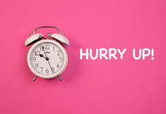 Alarm clock with Hurry Up! text (wuestenigel) Tags: up alarm object alarmclock pink concept hurry time clock late background bell white zeit noperson keineperson uhr wecker deadline frist number nummer retro timer h pressure druck midnight mitternacht business geschäft reminder erinnerung watch sehen urgency dringlichkeit minute conceptual konzeptionelle countdown classic klassisch isolated isoliert early früh2019 2020 2021 2022 2023 2024 2025 2026 2027 2028 2029 2030