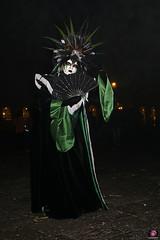 QUINTESSENZA VENEZIANA 2019 867 (aittouarsalain) Tags: venise venezia carnevale carnaval masque mask costume chapeau nuit