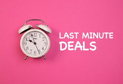 Alarm clock with Last minute deals text (wuestenigel) Tags: lastminute alarmclock alarm deal background pink concept clock time object late business bell white zeit noperson keineperson uhr wecker deadline frist number nummer pressure druck geschäft timer h retro midnight mitternacht reminder erinnerung urgency dringlichkeit conceptual konzeptionelle watch sehen countdown minute isolated isoliert alert warnen classic klassisch2019 2020 2021 2022 2023 2024 2025 2026 2027 2028 2029 2030