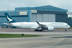 Cathay Pacific A350-900 (Martyn Cartledge / www.aspphotography.net) Tags: a350900 aerodrome aeroplane air airbus aircraft airline airliner airplane airport aspphotography aviation blru cartledge cathaypacific civilairline civilairliner flight fly flying flywinglets jet man manchester martyn plane runway transport wwwaspphotographynet wwwflywingletscom uk asp photography