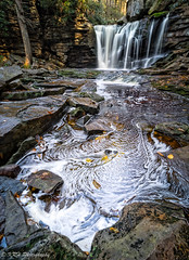 Foamy Falls (KRHphotos) Tags: elakalafalls hdr westvirginia landscape waterfall nature stream blackwaterfallsstatepark blurredwater