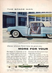 1959 World Wide Ford The Space Man Page 1 International Advertsement (Darren Marlow) Tags: