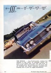 1960 World Wide Ford Companies TEST CURVE Page 1 Aussie Original Magazine Advertisement (Darren Marlow) Tags: