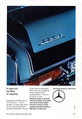 1965 Mercedes-Benz 220 S Saloon W111 Aussie Original Magazine Advertisement (Darren Marlow) Tags: 1 2 5 6 9 19 65 1965 m mercedes b benz 220 s saloon c car cool collectors classic chrome f fins a automobile v vehicle g germany german e europe european 60s