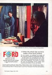 1958 World Wide Ford Companies Craftmanship Page 2 Aussie Original Magazine Advertisement (Darren Marlow) Tags:
