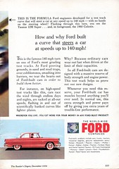 1960 World Wide Ford Companies TEST CURVE Page 2 Aussie Original Magazine Advertisement (Darren Marlow) Tags: