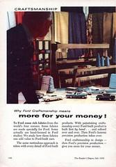 1958 World Wide Ford Companies Craftmanship Page 1 Aussie Original Magazine Advertisement (Darren Marlow) Tags: