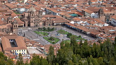 Plaza de Armas - Cuzco (Chemose) Tags: sony ilce7m2 alpha7ii avril april pérou peru cuzco cusco inca placedarmes plazadearmas sacsayhuaman place plaza square église church toit roof hdr architecture