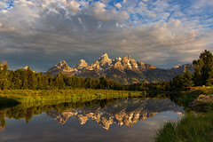 Fairest of Them All (LonesomeLandscapes.com) Tags: landscape wyoming tetons grandtetons nationalparks grandtetonnationalpark nature sunrise mountains river reflection summits