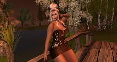 Chocolate Flower (denateardrop) Tags: besom ikon catwa deetales lushpose annysfashion