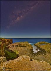 Milky Way Core ... (e0nn) Tags: pentaxdfa1530wr hdpentaxdfa1530mmf28edsdmwr pentaxk1 pentax ricoh bombo quarry nocturnal night nightshot nighttime stars milkyway affinityphoto luminar luminarflex skylum panorama sequitor